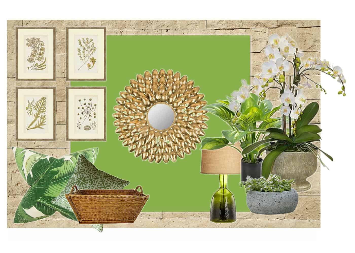 Color Scheme-Pantone Greenery