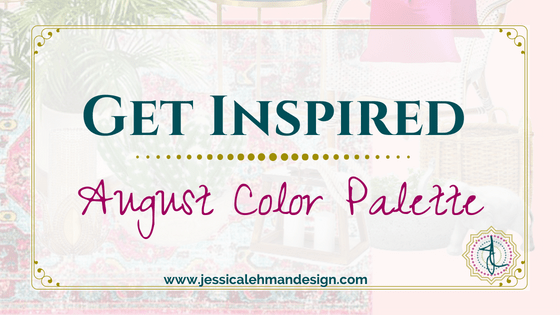 August Color palette introduction