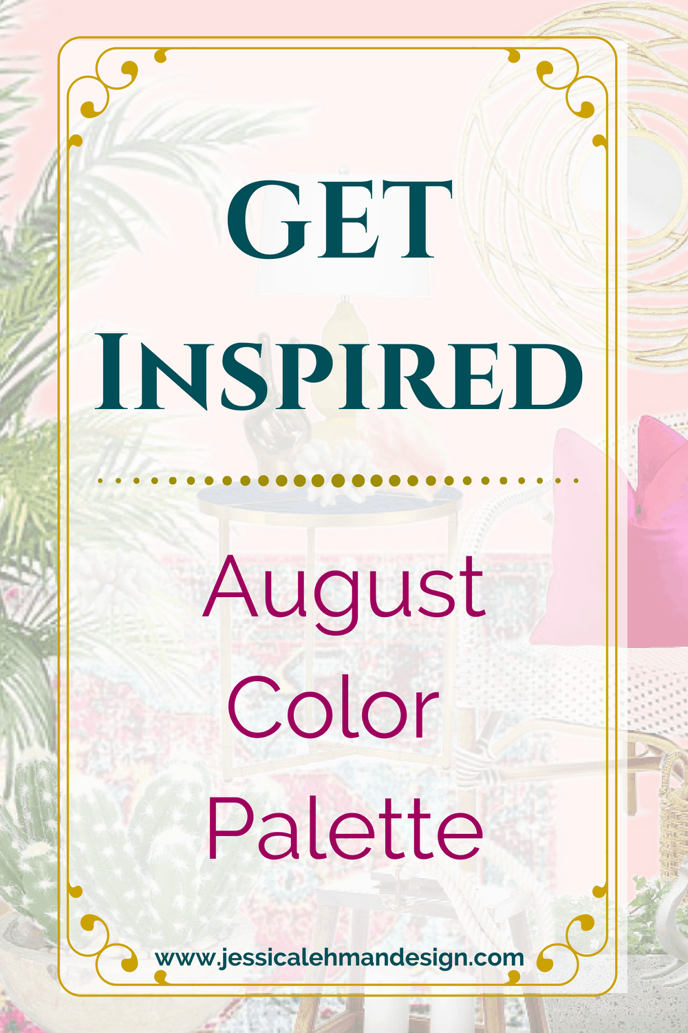 August Color palette