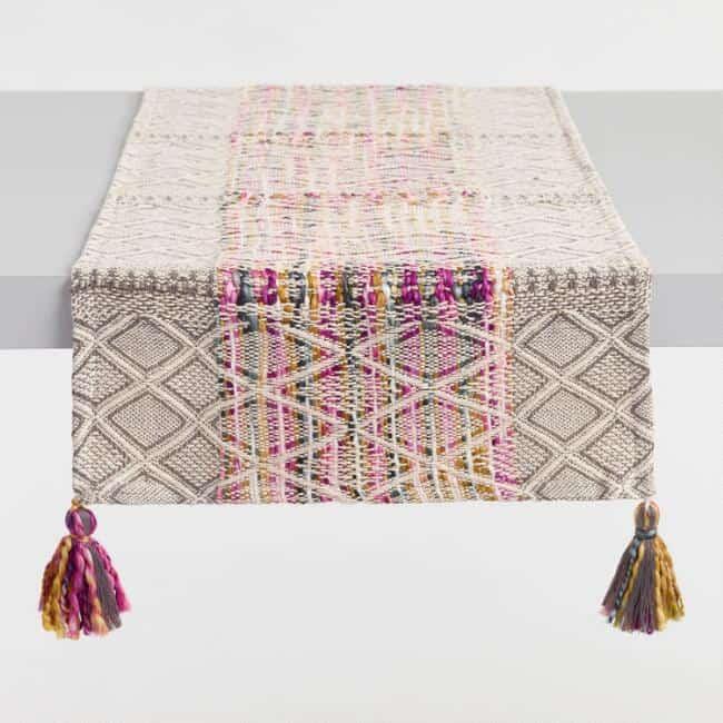 Amari tablerunner boho tablescape