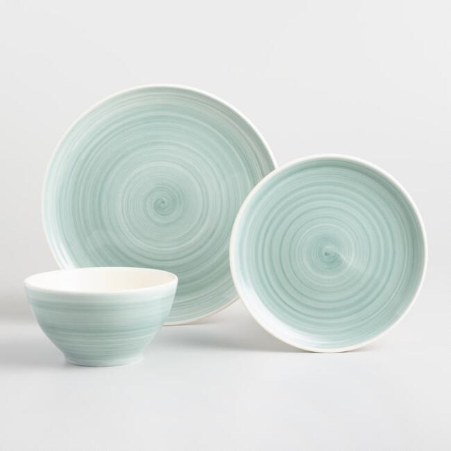 Spinwash dinnerware boho tablescape