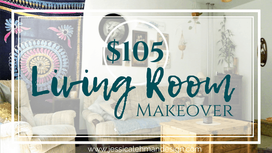 $105 Living Room Makeover