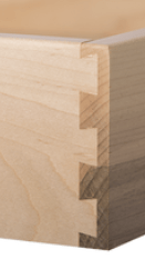 Cabinetry terms to know - dovetail drawer box