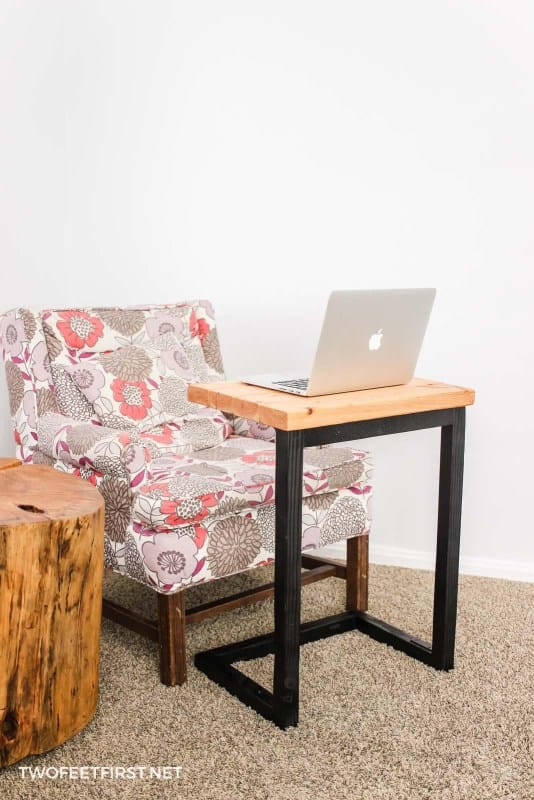 DIY Christmas gift -laptop-sofa-table-two feet first