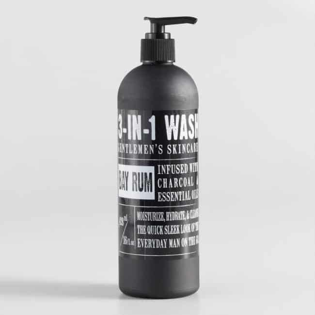 Bay Rum Gentlemen's 3 in 1 Wash-last minute gifts
