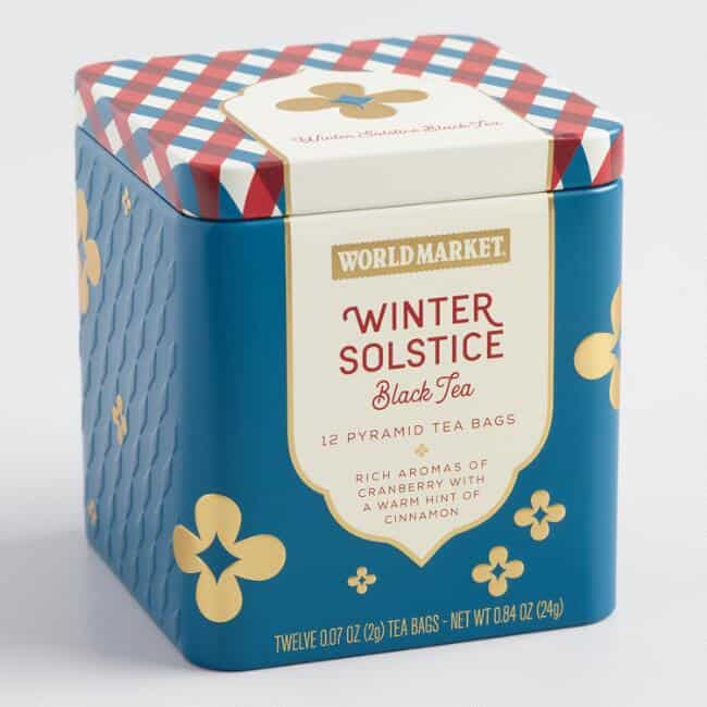 Winter Solstice Tea-last minute gifts